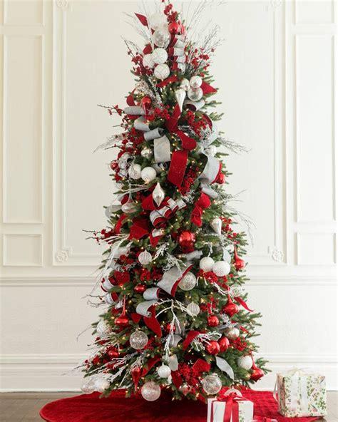 silverado slim christmas trees  balsam hill