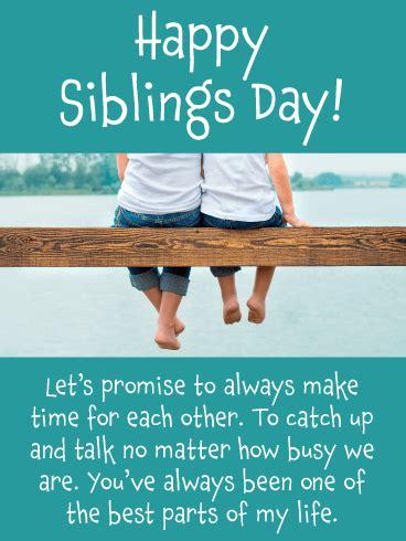 siblings day cards  happy siblings day