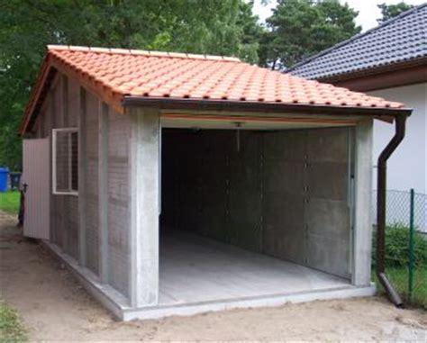 Garage An Nachbargrenze by Garagen Wohnh 228 User Hallen