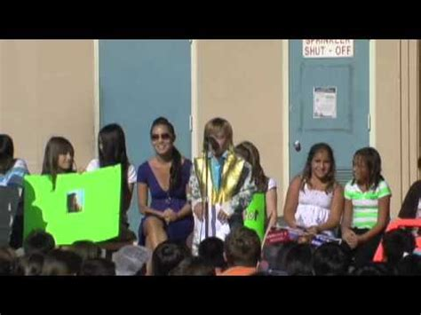 Awesome 5th Grade Rap For Treasurer Youtube