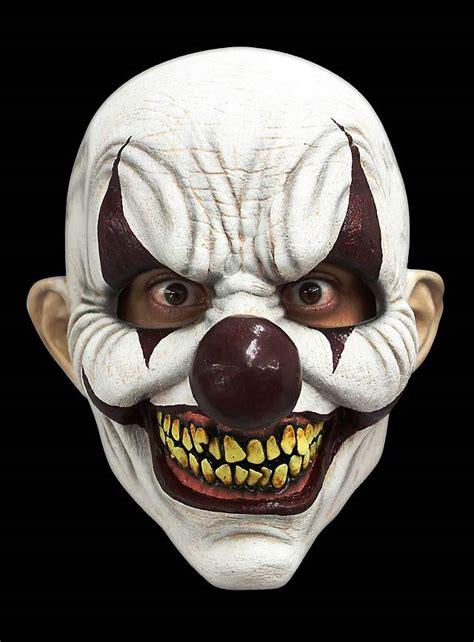 diabolischer clown maske halloween latexmaske