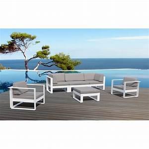 Salon De Jardin Acier : emejing salon de jardin acier blanc images awesome ~ Dailycaller-alerts.com Idées de Décoration
