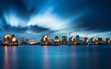thames barrier  london wallpapers
