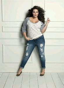 Jeans And Tops For Fat Ladies - Oasis amor Fashion