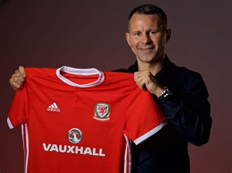 ryan giggs named wales manager wales itv news