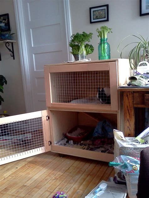 Indoor Wooden Rabbit Hutch - wooden indoor wooden rabbit cage plans pdf plans