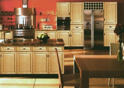 kitchens with light oak cabinets rta kitchen cabinet discounts maple oak bamboo birch 8795