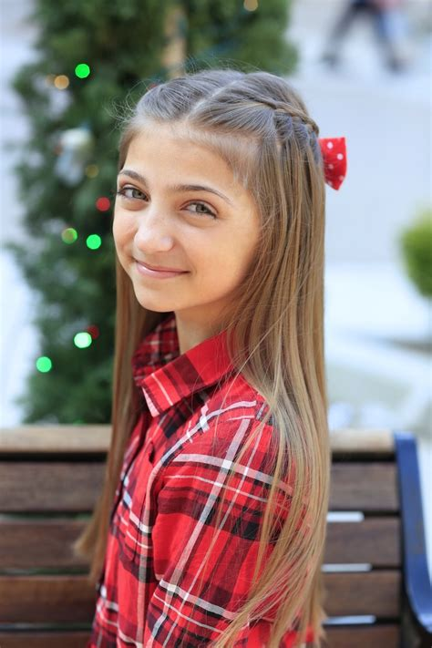 christmas hairstyles cute girls hairstyles