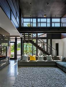 Industrial Modern House Designed to Promote the Outdoors ...  Modern