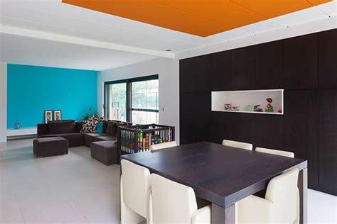couleur plafond cuisine osez la couleur au plafond déco solutions
