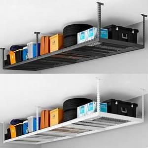 Rangement Plafond Garage : newage products inc support de rangement de 4 pi x 8 pi pour plafond garage ideas ceiling ~ Melissatoandfro.com Idées de Décoration