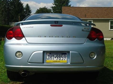 Purchase Used 2003 Dodge Stratus R/t Coupe 2-door 3.0l In