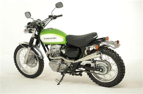 Kawasaki W800 Based Scrambler Available From British