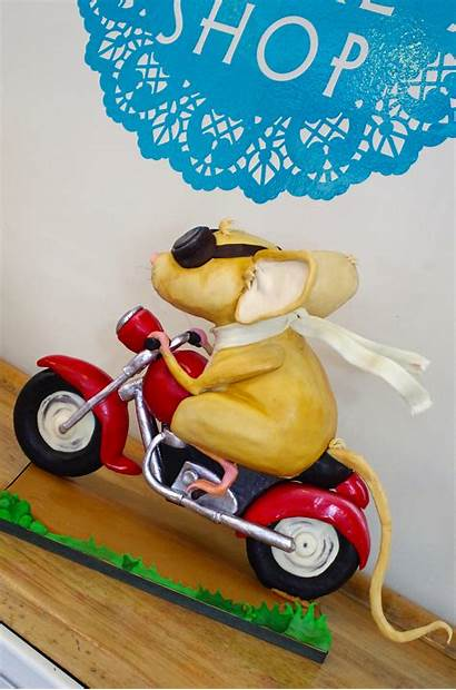 Mouse Cake Motorcycle Armature Cakecentral