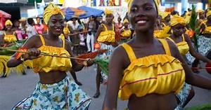 Costumed Haitians celebrate Carnival  Carnival