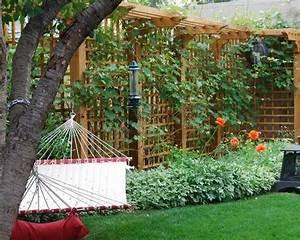 La decoration exterieure avec un treillis de jardin for Decoration terrasse de jardin 0 decoration jardin treillis