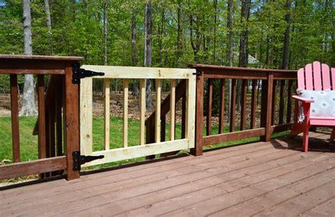 Deckgate (literally, How To Make A Deck Gate