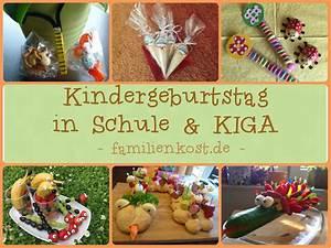 Mitgebsel & Rezepte für Kindergeburtstag im Kindergarten