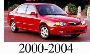 Kia Spectra 2000 2001 2002 2003 2004 Workshop Service