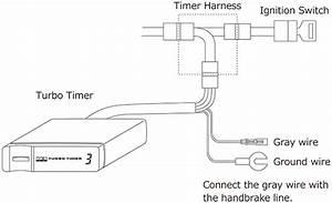 Hks Turbo Timer Type X  U0026 Harness Loom Ford Focus Rs Mk2 305ps 41001