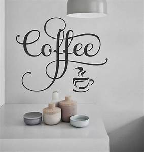 25 best ideas about kitchen vinyl sayings on pinterest With coffee letters for wall