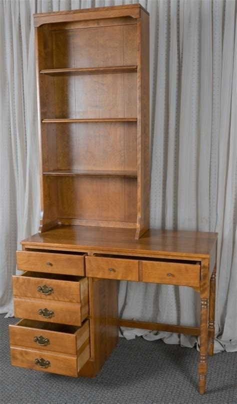 Ethan Allen Desk With Hutch by Ethan Allen Solid Maple Desk Hutch
