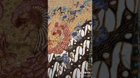 Bahan kain batik halus semi sutra motif daun ketela semi sutra meteran kain murah. Batik tulis sutra - YouTube