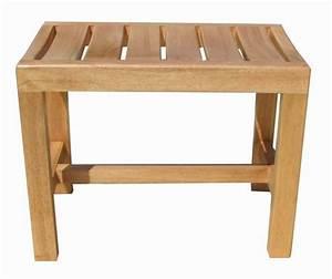Tabouret Douche Bois : tabouret de douche en bois ~ Edinachiropracticcenter.com Idées de Décoration