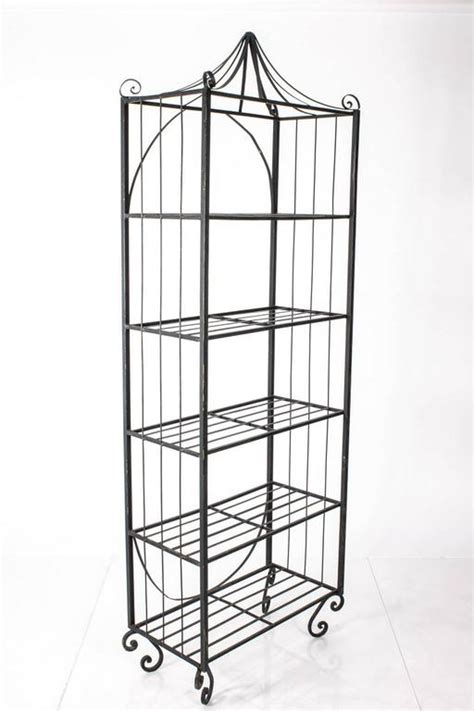 wrought iron etagere wrought iron 201 tag 232 re for sale at 1stdibs