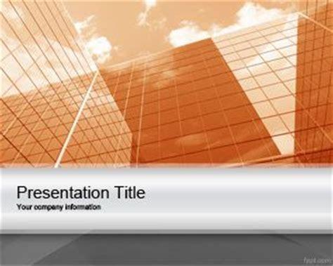 orange corporate project powerpoint template  template