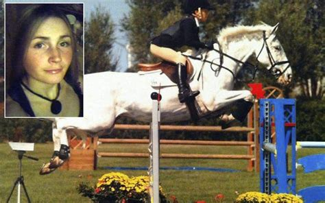 showjumper dies  anorexia battle triggered  mother