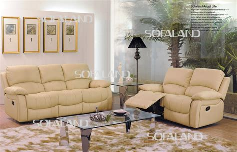 Light Leather Recliner by China High Back Light Color Leather Recliner Sofa China