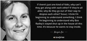 Harper Lee quot... Boo Radley Mysterious Quotes