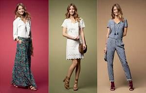 Style Bohème Chic Femme : mode printemps ete 2017 caroll ~ Preciouscoupons.com Idées de Décoration