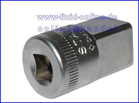 adapter 1 4 auf 1 2 stahlwille 410 adapter innen 6 3mm 1 4 quot auf aussen 12 5mm 1 2 quot 11030003 neu ebay