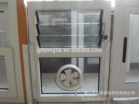 Upvc Ventilator Window With Exhaust Fan For Kittchen Or