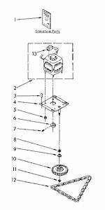 Kenmore Trash Compactor   Parts