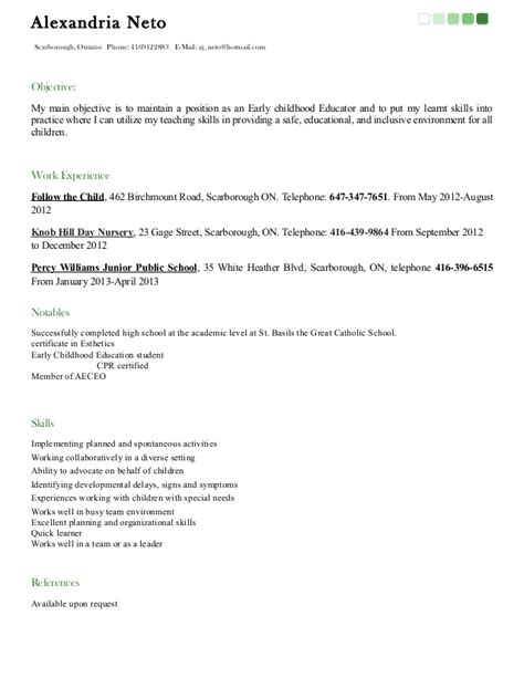 ece resume sample good copy ece resume