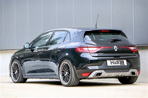 renault megane 4 tuning renault megane gt dropped on h r springs and spacer package forcegt