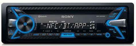 Sony Mex-n4100bt Car Stereo Radio Player Cd Mp3 Bluetooth