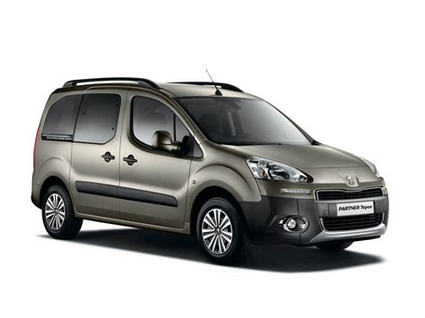 Peugeot Partner Tepee by 2012 Peugeot Partner Tepee Pictures Information And