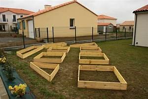 Carre De Jardin Potager : jardin en carre fabrication meilleures images d ~ Premium-room.com Idées de Décoration