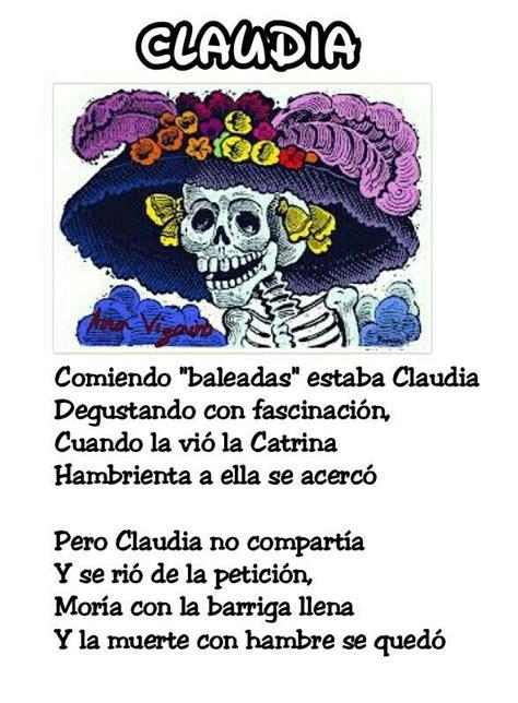Claudia Calaveritas literarias 2016 Calaveras