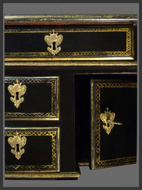 bureau mazarin louis xiv period ebonized bureau mazarin ref 61978
