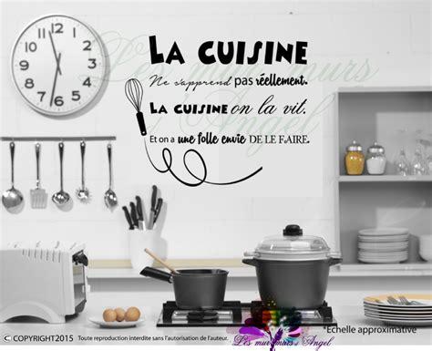 stickers cuisine dicton lesmurmursdangel fr