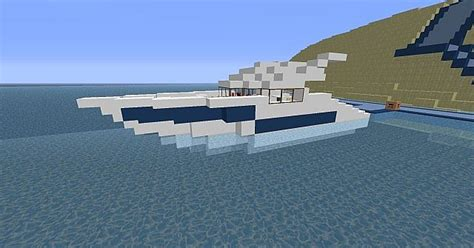 How To Make A Yacht Boat In Minecraft by Small Yacht Modern Minecraft Project