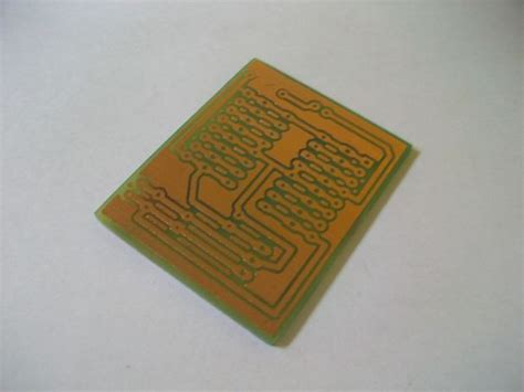 Creating Printed Circuit Boards With Inkjet Printer