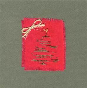 Modele Carte De Voeux : mod le de carte de voeux avec un sapin brod vhd ~ Melissatoandfro.com Idées de Décoration