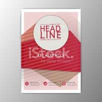 Vector Brochure Template A4 Format Layout Home Page And Modernes Design Vorlage Flyer Brosch 252 Re Abstrakt A4