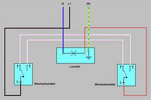 Serienschalter Wechselschalter Unterschied : elektroinstallation schalter und steckdosen ~ Lizthompson.info Haus und Dekorationen